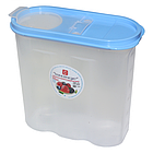 Пластиковая емкость контейнер для сыпучих 2,4л Консенсус, фото 2