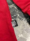 Мужская кофта свитшот KENZO Paris D10147 красная, фото 6