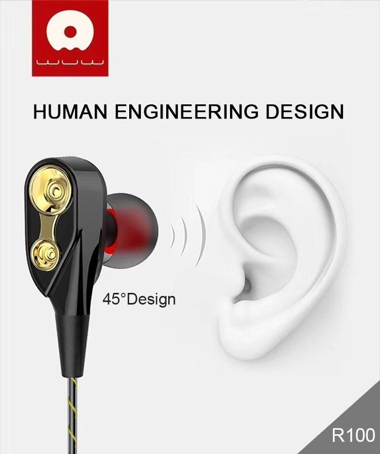 Гарнитура Wuw R100 Stereo Earphone