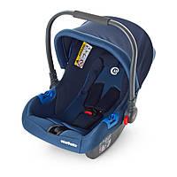 Детское автокресло-переноска Бебикокон для новорожденного 0+ (ME 1009-2) синий