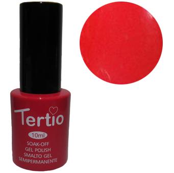 TERTIO гель - лак № 045(ніжно-червоний болотний) 10 мл