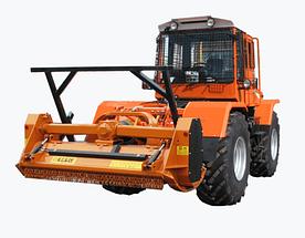 Трактор 200-02М з лісотехнічним мульчером