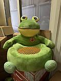 Мягкое детское кресло Лягушка,Обезьянка, фото 3