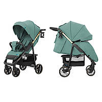 Современная и стильная прогулочная Коляска прогулочная CARRELLO Echo CRL-8508/2 Emerald Green +дождевик L /1/