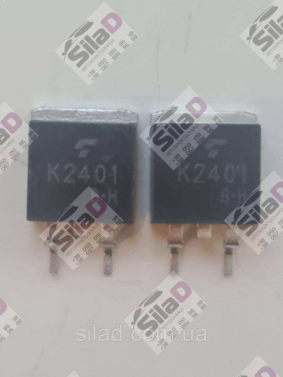 Транзистор 2SK2401 K2401 Toshiba корпус TO-263