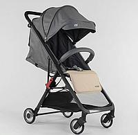 Детская прогулочная коляска Kamelia 71789 серая с бежевым