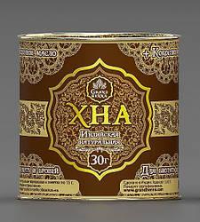 Хна Viva для биотату шоколадно- коричневая (с кокосовым маслом), 30 гр
