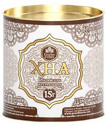Хна Viva для биотату коричневая (с кокосовым маслом), 60 гр
