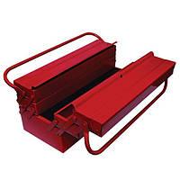 Ящик для инструментов металлический 450 мм, 7 секций Intertool HT—5047