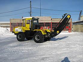 Трактор ХТА-200-10 з барової установки Т-150К