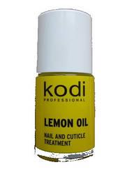 """Масло для кутикулы """"Лимон"""" 15 мл. Kodi"""