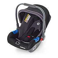 Детское автокресло-переноска Бебикокон для новорожденного 0+ (ME 1009-2) чорный