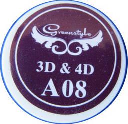 3D-гель для лепки 7 гр Темный баклажан