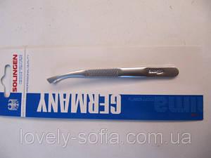 Пинцет для бровей с загнутыми ручками Solingen