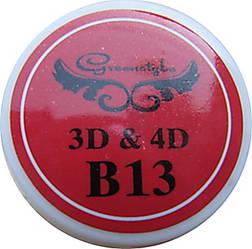 3D-гель для лепки 7 гр Ярко-красный.