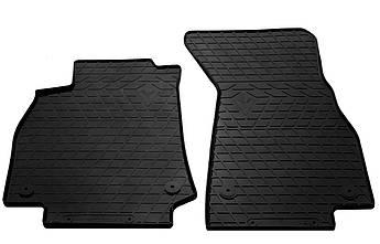 Коврики в салон резиновые передние для  AUDI A6 C8  2018-   Stingray (2шт)