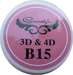 3D-гель для лепки 7 гр Нежно розовый