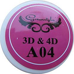 3D-гель для лепки 7 гр Розовый