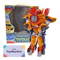 """Робот Трансформер - """"Тобот Титан"""" з турбіною 2 в 1 - Тобот 504"""
