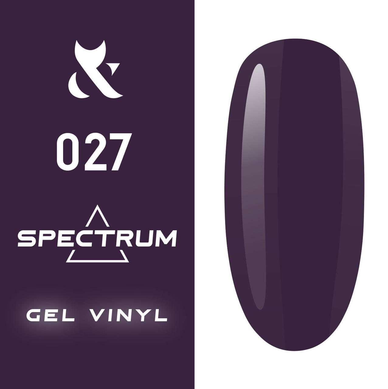 Гель-лак F.O.X Spectrum Gel Vinyl  № 027, 7мл