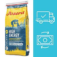 Корм для собак Josera High Energy Йозера Хай Енерджі з підвищеним вмістом калорій 15 кг