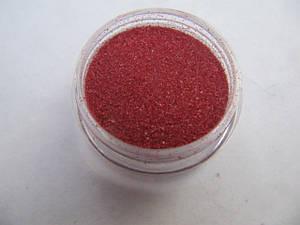 Бархатный песок малиново-красный