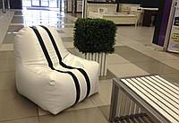 Кресло мешок с полосками из оксфорда