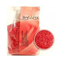 Гранулированый воск для депиляции Роза (Винный) Ital Wax 1 кг.