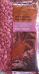 Воск горячий в гранулах ItalWax Розовый жемчуг-премиум класса (лицо , бикини и подмышки) 750 гр