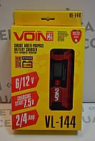 Зарядний пристрій VOIN VL-144 6&12V, фото 1