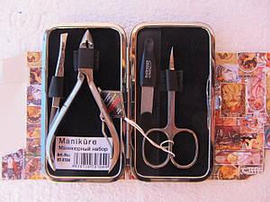 Маникюрный набор Niegelon satin (4 предмета)