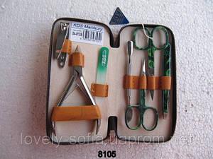 Маникюрный набор KDS с цветным инструментом (7 предметов)