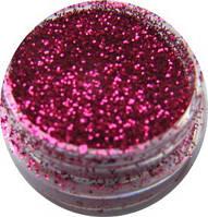Песок для дизайна ногтей Розовый яркий .
