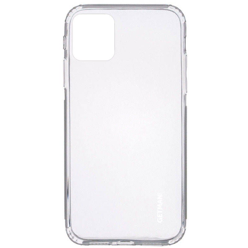 "TPU чехол GETMAN Clear 1,0 mm для Apple iPhone 12 (6.1"")"