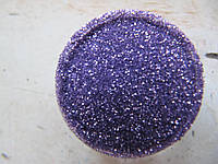 Песок для дизайна ногтей фиолетовый