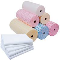 Одноразовые полотенца для маникюра в рулоне