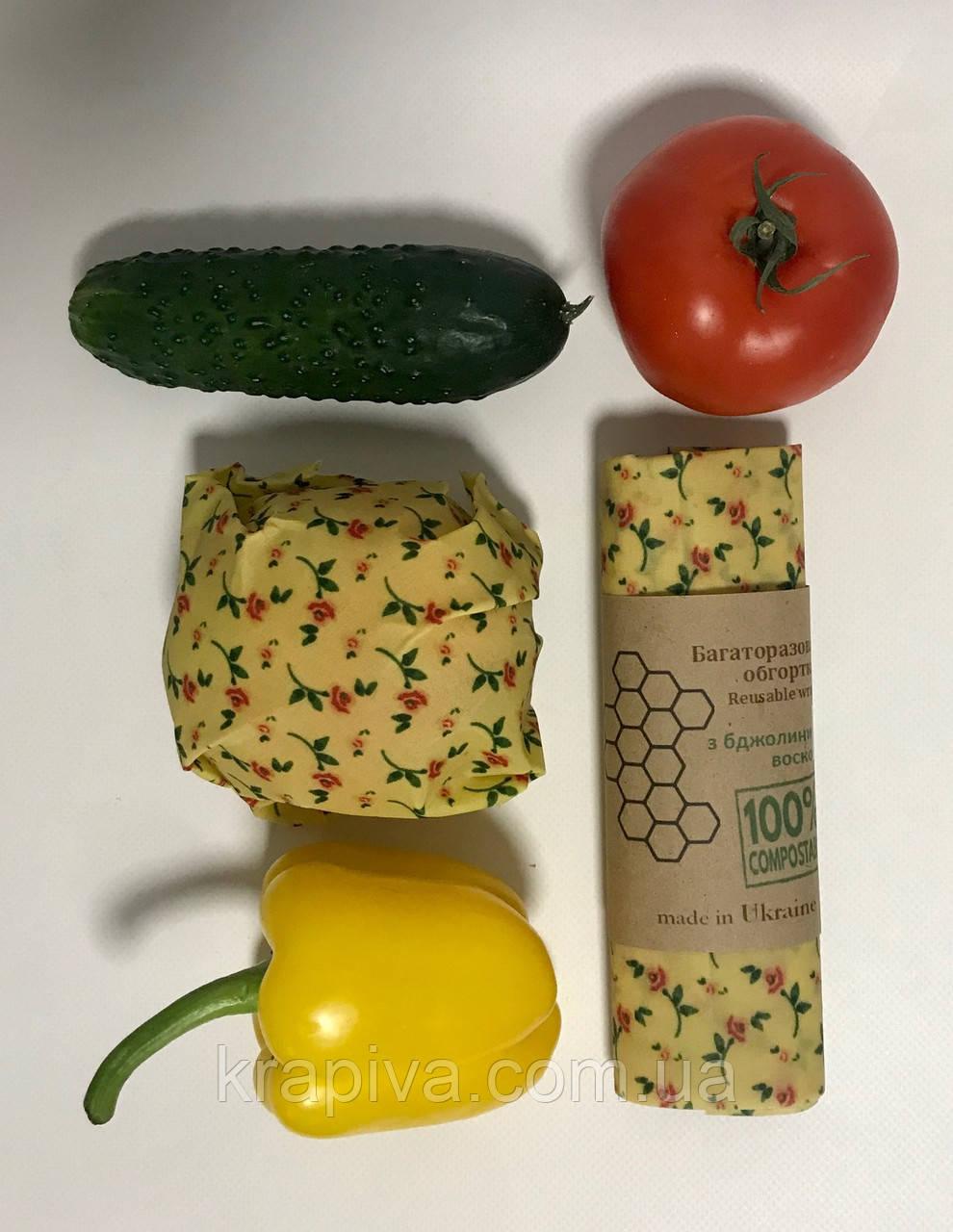 Восковая салфетка обертка для продуктов, воскова серветка обгортка