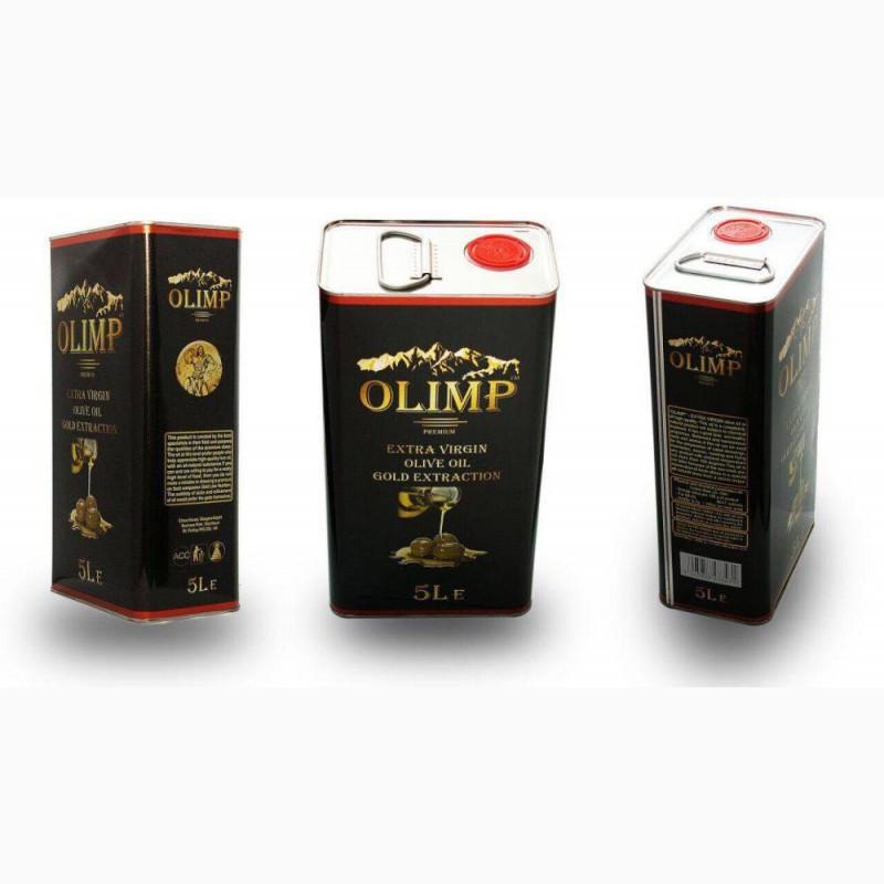 Олія оливкова OLIMP Premium(Греція). Extra virgin olive oil. 5л