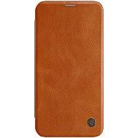 """Кожаный чехол (книжка) Nillkin Qin Series для Apple iPhone 12 mini (5.4""""), фото 1"""