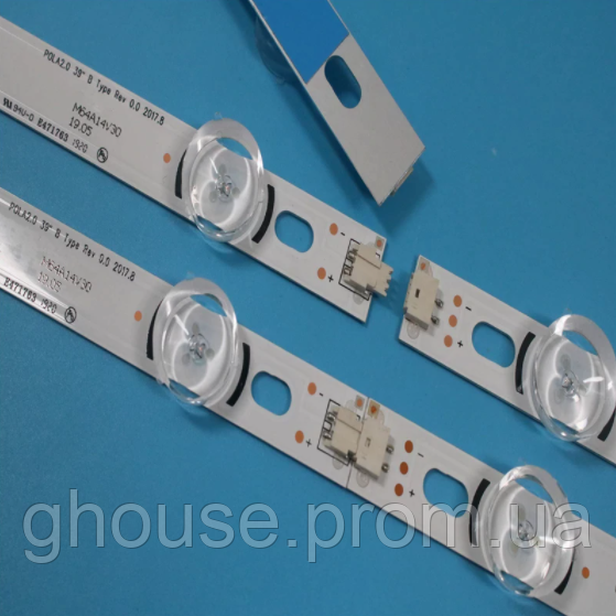 LED подсветка телевизора LG 39LN540V Innotek POLA2.0 39
