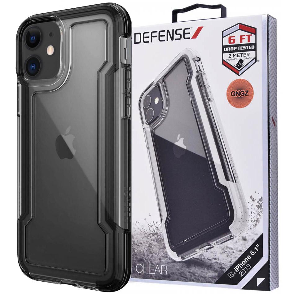 "Чехол Defense Clear Series (TPU+PC) для Apple iPhone 11 (6.1"")"