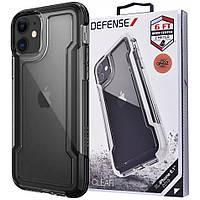 "Чехол Defense Clear Series (TPU+PC) для Apple iPhone 11 (6.1""), фото 1"