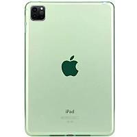 "TPU чехол Epic Color Transparent для Apple iPad Pro 11"" (2020) Зеленый"