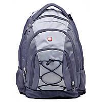 Рюкзак Wenger  серый/св. серый) 45 х 33 х 19 см (28л)
