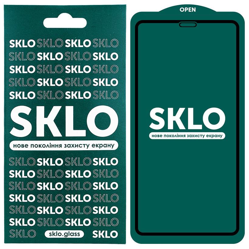 """Защитное стекло SKLO 5D (full glue) для Apple iPhone 12 mini (5.4"""")"""