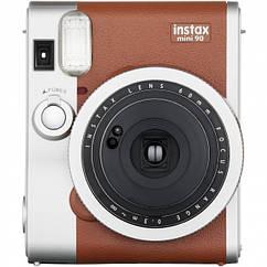 Фотокамера моментальной печати Fujifilm Instax Mini 90 Neo Classic Brown Pro + бумага и чехол