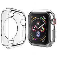 Чехол TPU прозрачный 360 для Apple Watch 44mm, фото 1