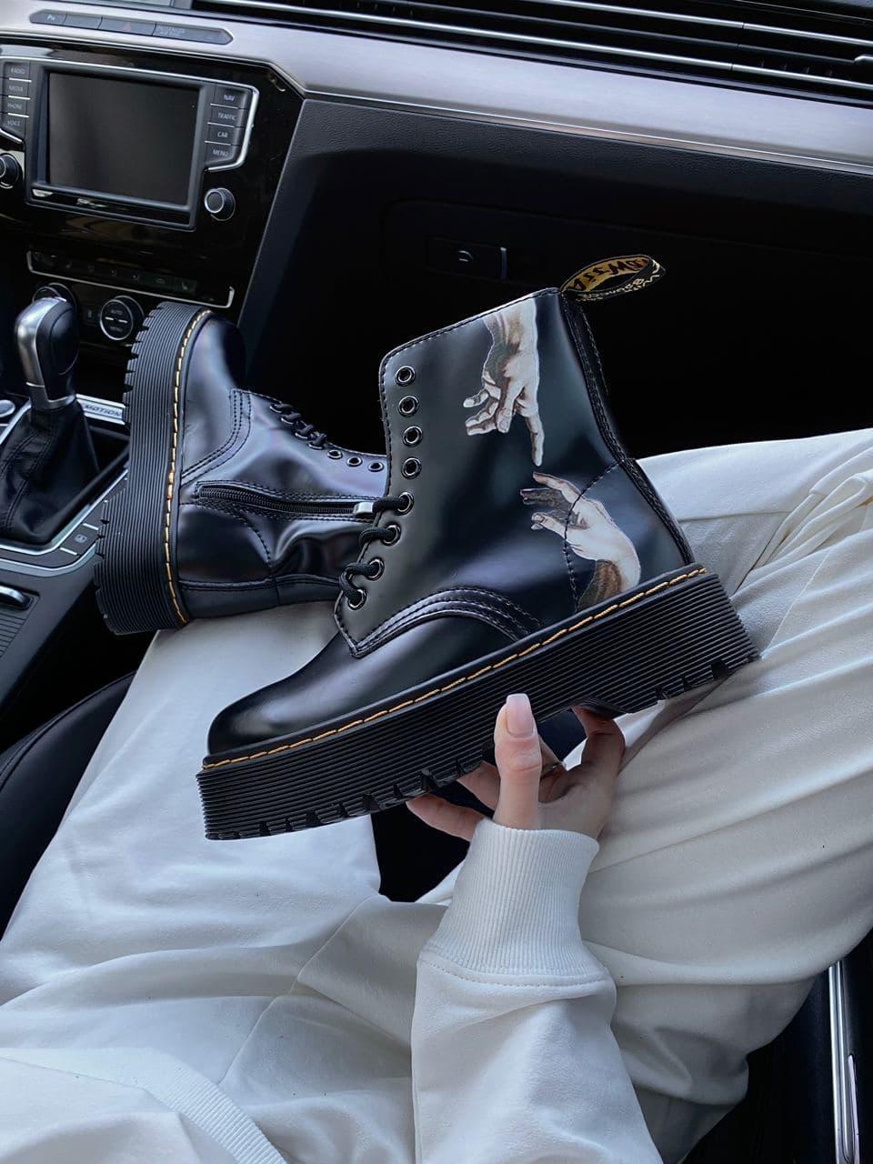 Женские ботинки Dr. Martens PA311 черные