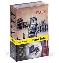 Книга сейф с замком на ключике 24 см Лондон Италия Мэрилин Монро  сейф в виде книги