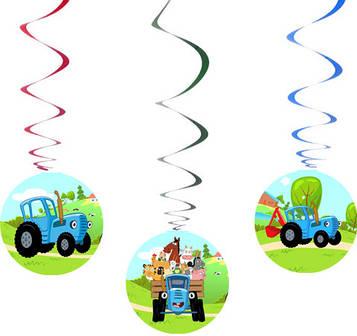 """""""Синий трактор"""" - Спіральки 6 шт. в уп."""